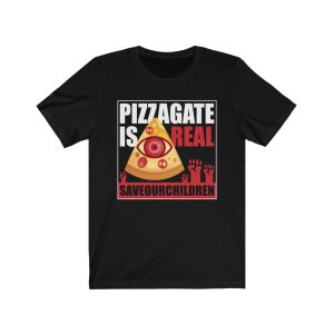 """Pizzagate Is Real – #SaveOurChildren"" Unisex T-shirt"