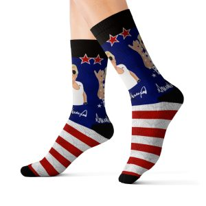 """Trump Extra Salty"" Socks"