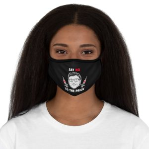 """""""Say No To The Prick"""" Fitted Mask"""