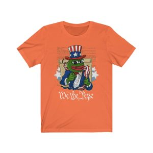"""""""We The Pepe"""" – Pepe Collection – Unisex T-shirt"""