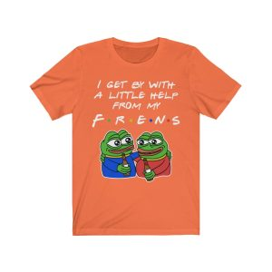"""""""My Frens"""" – Pepe – Unisex T-shirt"""