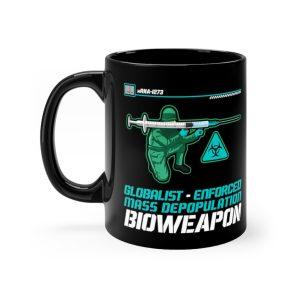 """Weapon of Mass Depopulation"" Mug"