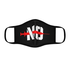 """""""No Jab"""" Fitted Mask"""