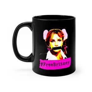 """Free Britney"" Mug 11oz"