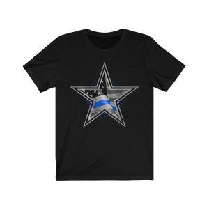 """Thin Blue Line – Police"" Unisex T-shirt"