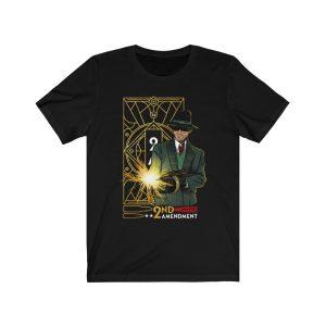 """""""Tommy Gun 2nd Amendment"""" Unisex T-shirt"""