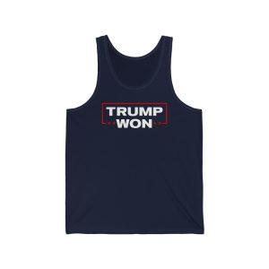 """Trump Won"" – Unisex Tank Top"