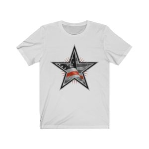 """""""Thin Red Line – Firefighters"""" Unisex T-shirt"""