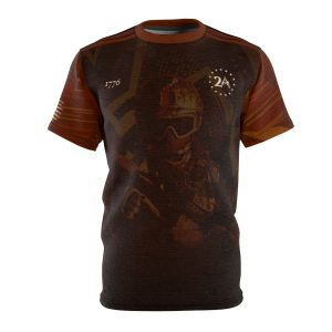 """""""Special Forces Operator – Red"""" All Over Print Unisex T-shirt"""