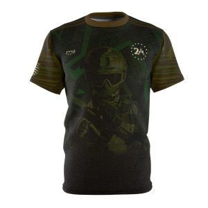"""""""Special Forces Operator – Green"""" All Over Print Unisex T-shirt"""