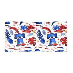 """Freedom & Liberty"" Beach Towel"
