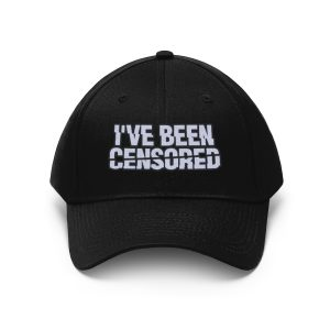 """I've Been Censored"" Unisex Embroidered Hat"