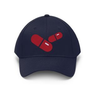 """""""Red Pills"""" Unisex Embroidered Hat"""