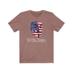 """We The People – Guy Fawkes Mask"" Unisex T-shirt"