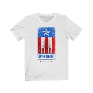 """""""Never Forget 9/11"""" Unisex T-shirt"""
