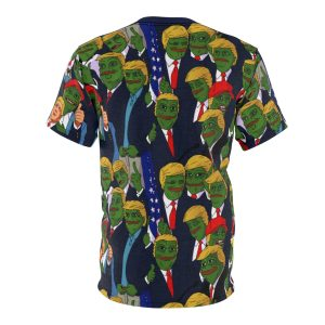 """""""Pepe Is Upon Us"""" All Over Print Unisex T-shirt"""