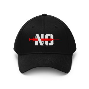 No Jab Embroidered Hat