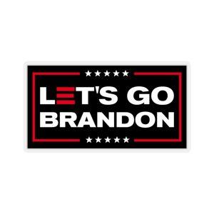 Let's Go Brandon Kiss-Cut Stickers