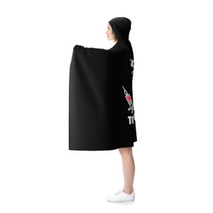 """""""Say No To The Prick"""" Hooded Blanket"""